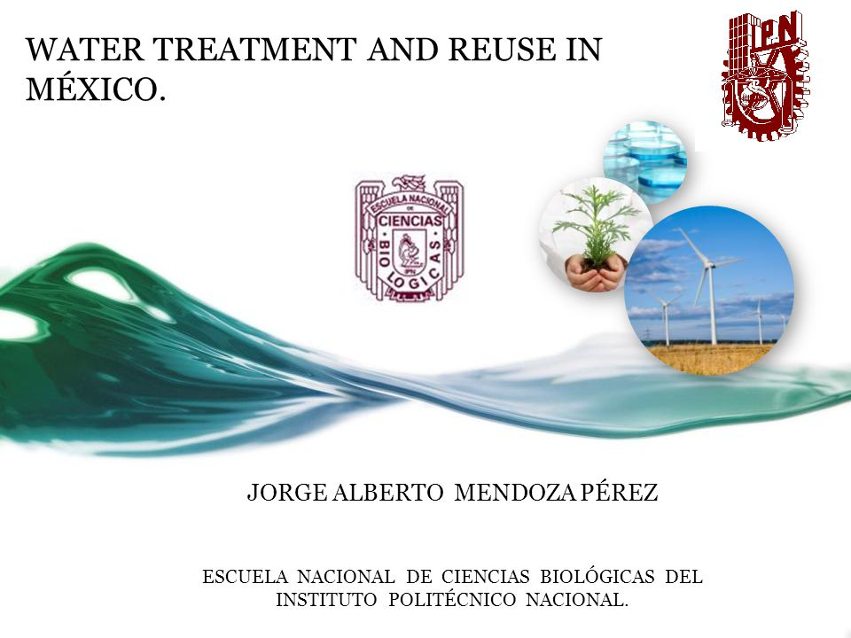 Water (wastewater) reuse in México 40-45% of wastewater treated or not is used for irrigation.