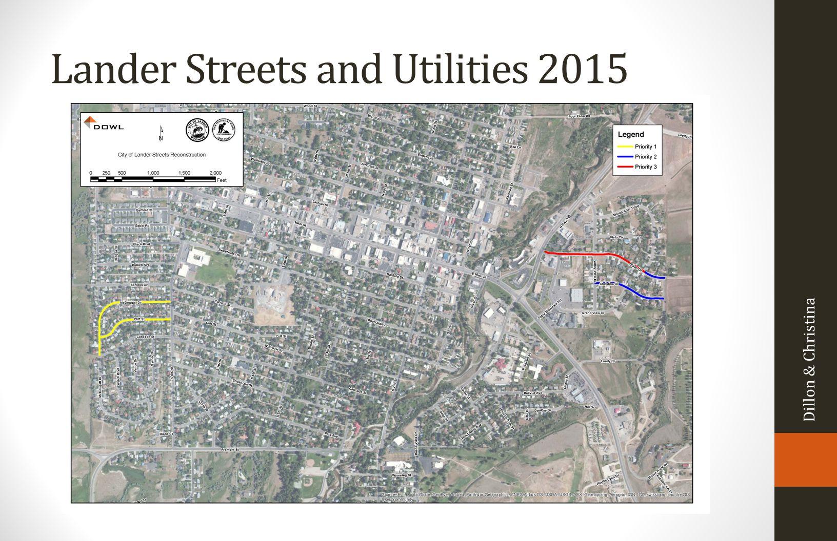 Lander Streets and Utilities 2015 Dillon & Christina