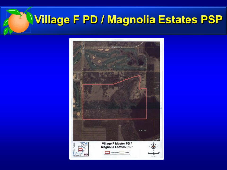 Village F PD / Magnolia Estates PSP