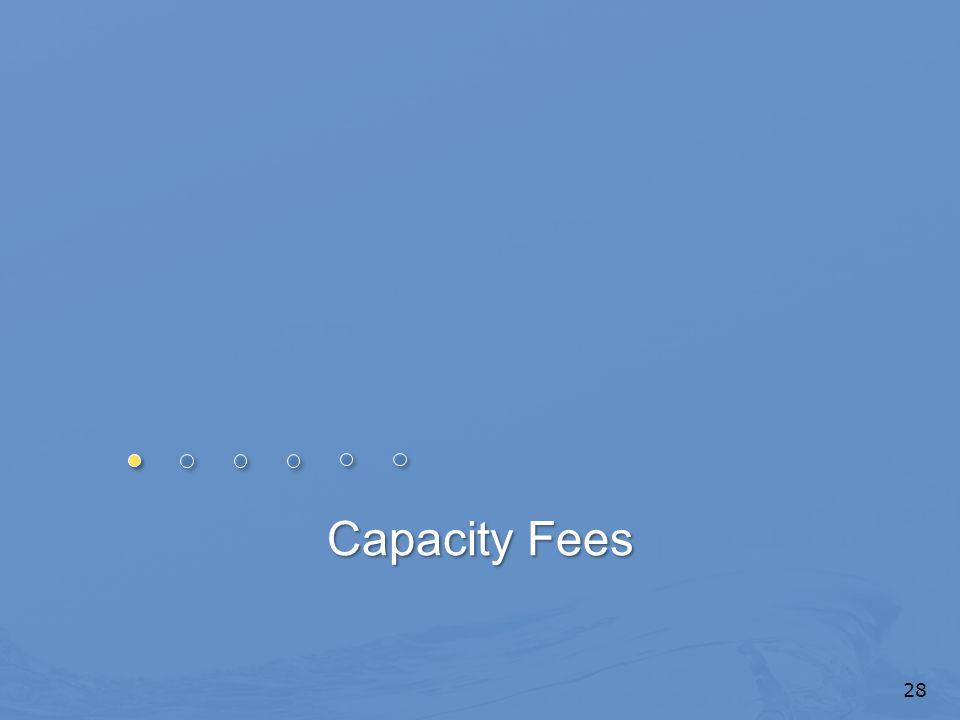 Capacity Fees 28