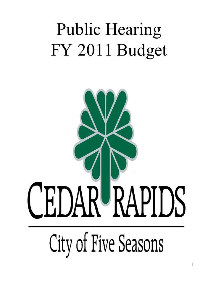 Public Hearing FY 2011 Budget 1