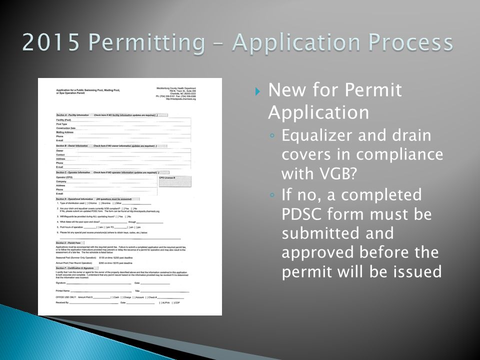  Permit fees will stay the same ◦ Seasonal Fee - $130 ◦ Annual Fee - $250  Late fees have not changed = $120
