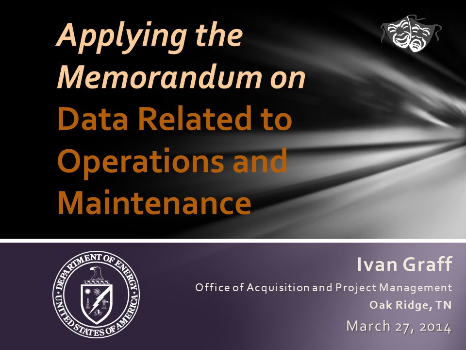 March 27, 201422FIMS Annual Comprehensive Training Data Gathering Methods Deferred Maintenance and Repair Needs...