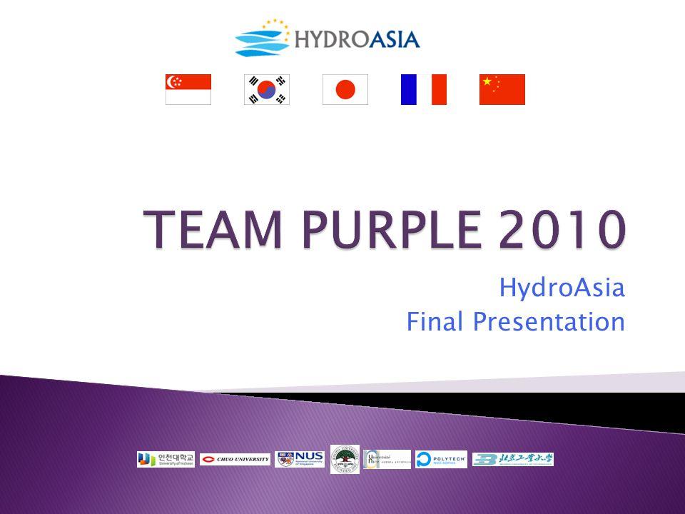 HydroAsia Final Presentation