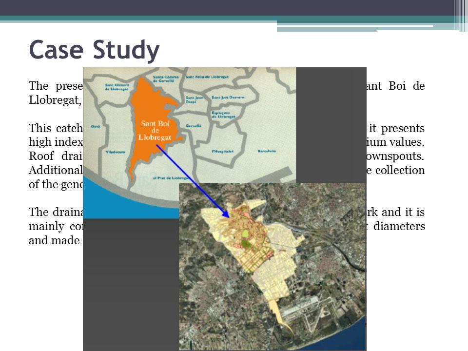 Case Study The present case study is an urban catchment located in Sant Boi de Llobregat, a town near Barcelona, Spain.