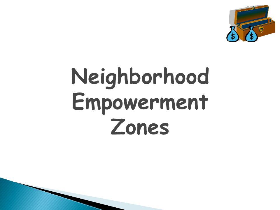 Neighborhood Empowerment Zones
