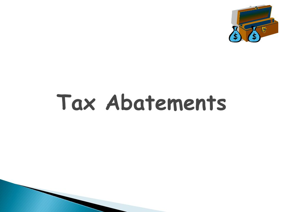 Tax Abatements