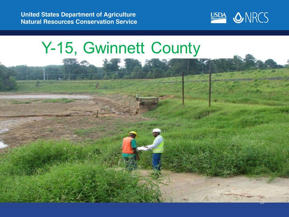 39 Y-15, Gwinnett County