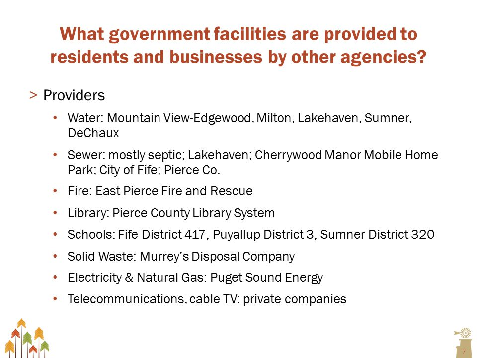 18 D.How does Edgewood pay for capital improvements.