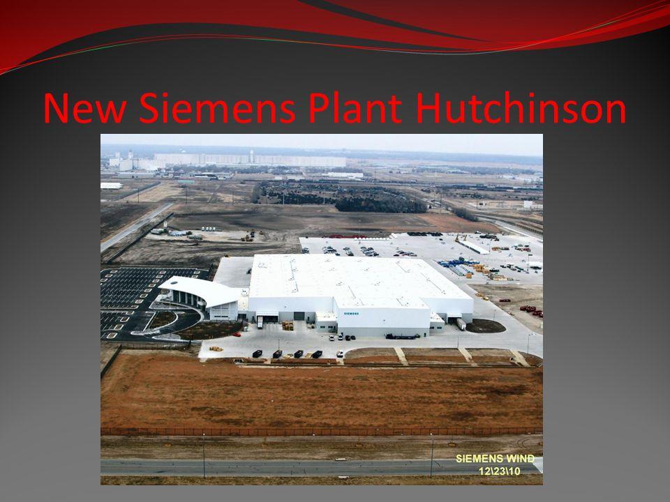 New Siemens Plant Hutchinson