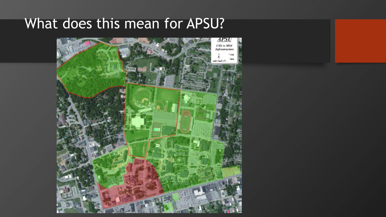 What does this mean for APSU