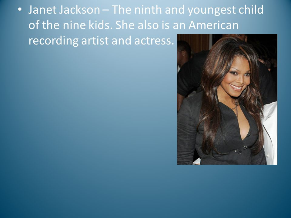 Maureen Jackson first child of the Jacksons – she stared of the show The Jacksons with her other sister Latoya in her younger years.