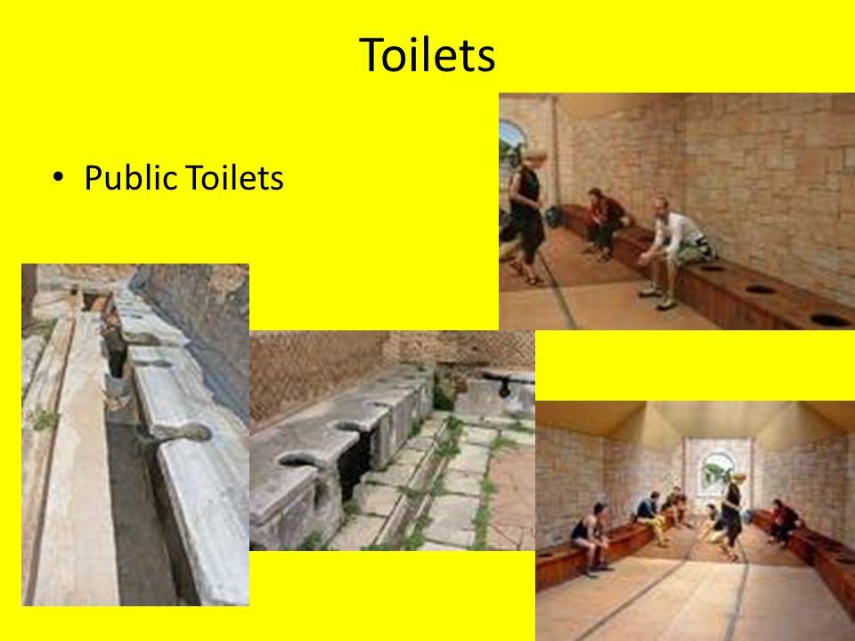 Toilets Public Toilets