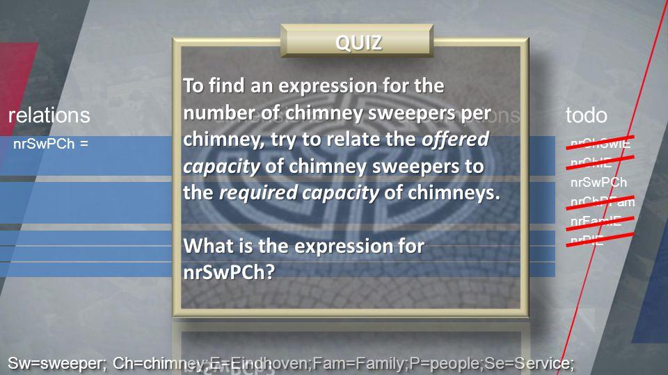 nrSwPCh = relationsdimensionsassumptionstodo nrChSwIE nrChIE nrSwPCh nrChPFam nrFamIE nrPIE Sw=sweeper; Ch=chimney;E=Eindhoven;Fam=Family;P=people;Se=Service;
