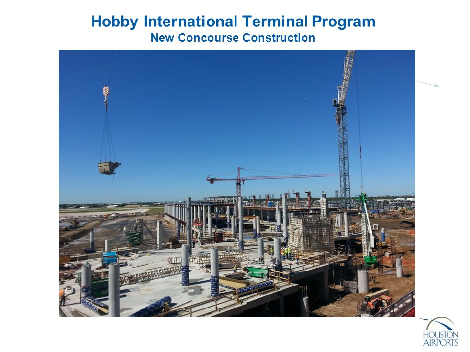 Hobby International Terminal Program New Concourse Construction