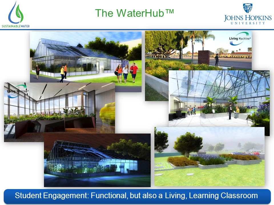 The WaterHub™ Student Engagement: Functional, but also a Living, Learning Classroom