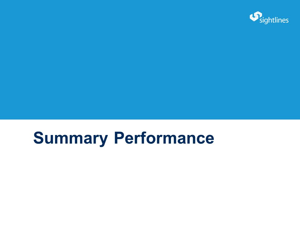 Summary Performance 21