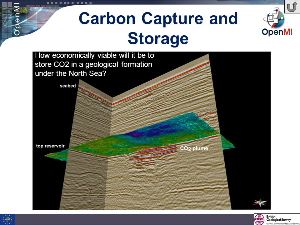 Carbon Capture and Storage How economically viable will it be to store CO2 in a geological formation under the North Sea?