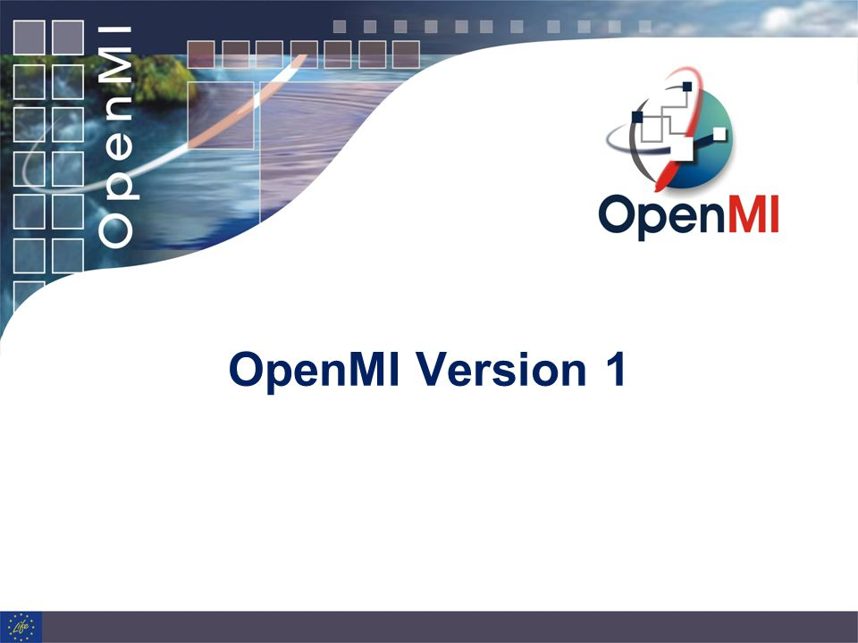 OpenMI Version 1