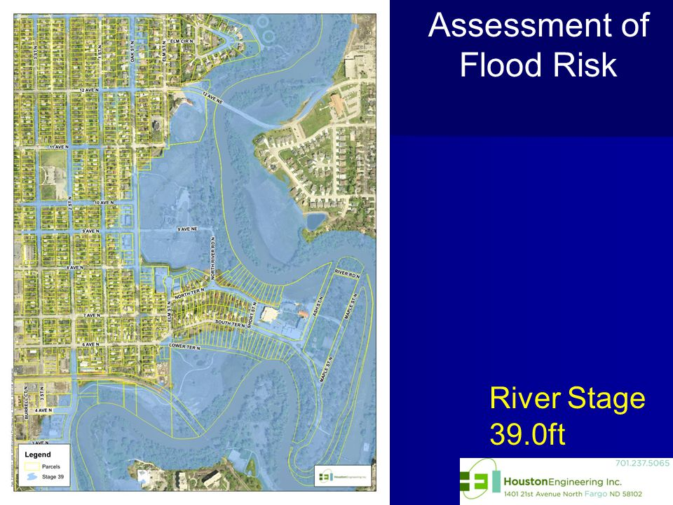 River Stage 39.0ft Assessment of Flood Risk