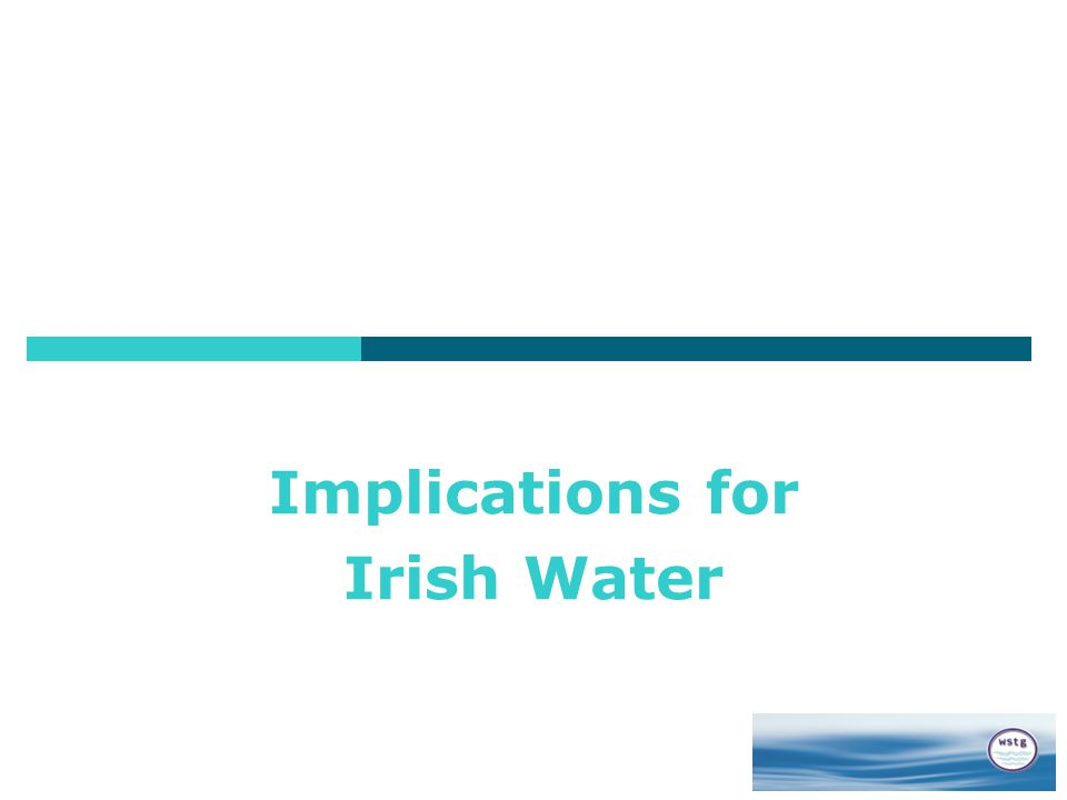 Implications for Irish Water