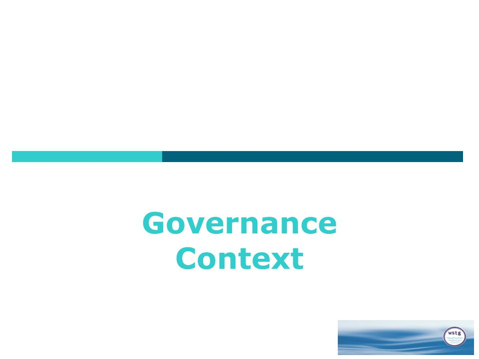 Governance Context