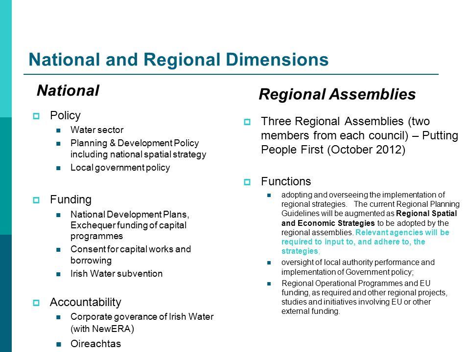 Economic & Planning Dimension