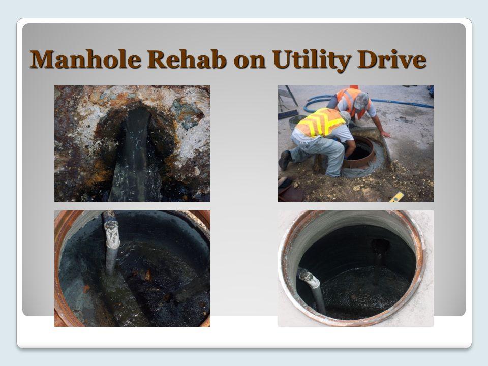Manhole Rehab on Utility Drive
