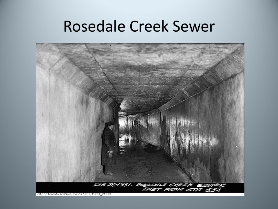 Rosedale Creek Sewer