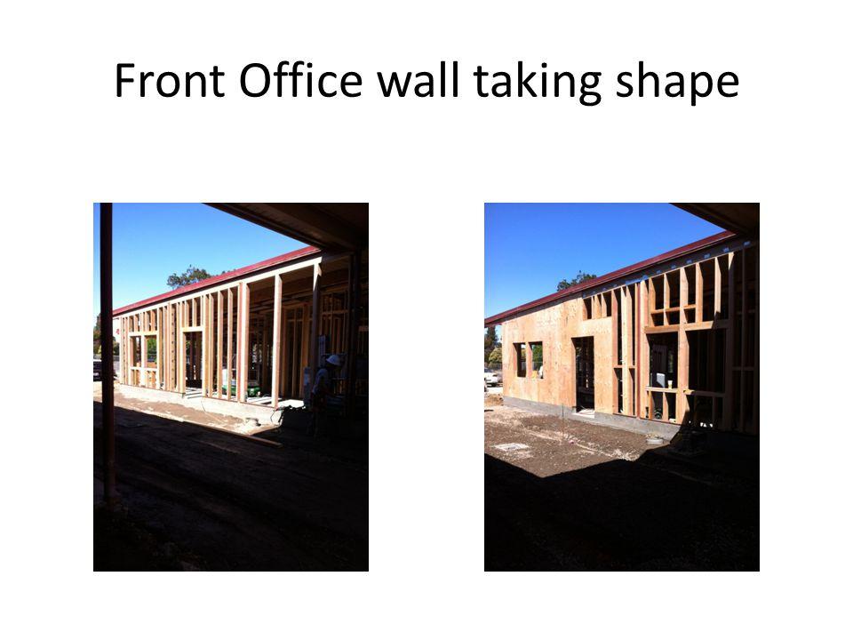 Finishing new office floor