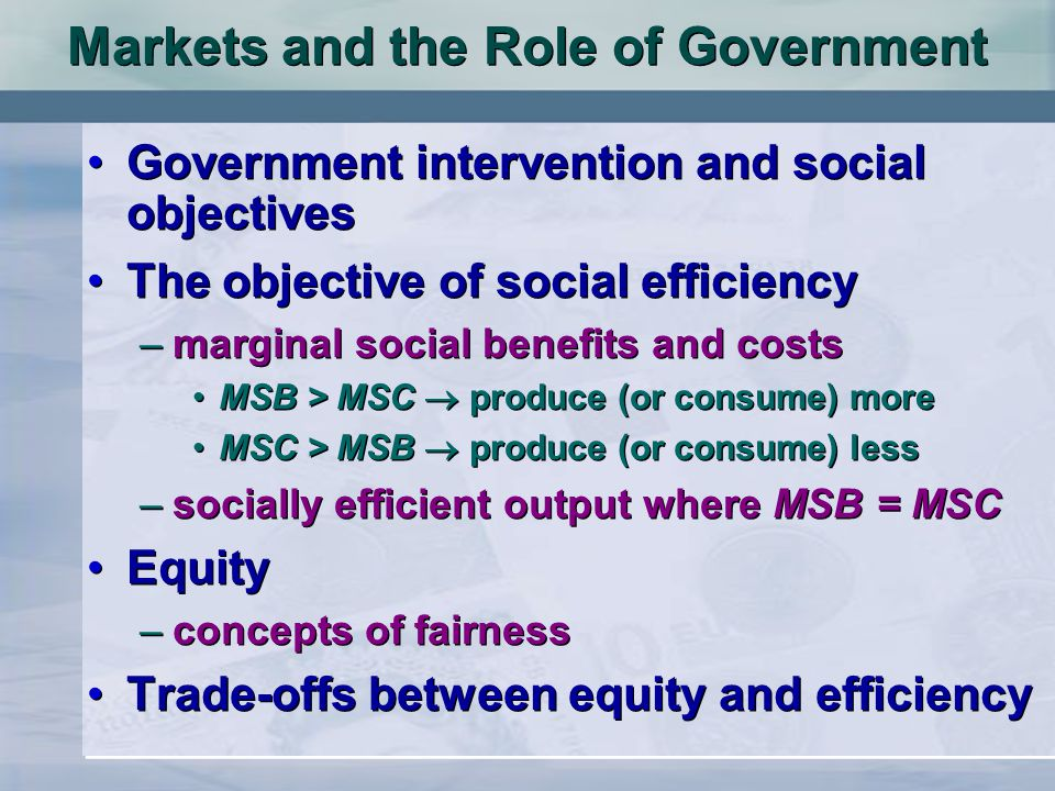 Private Solutions to Externalities Government action is not always needed to solve the problem of externalities.