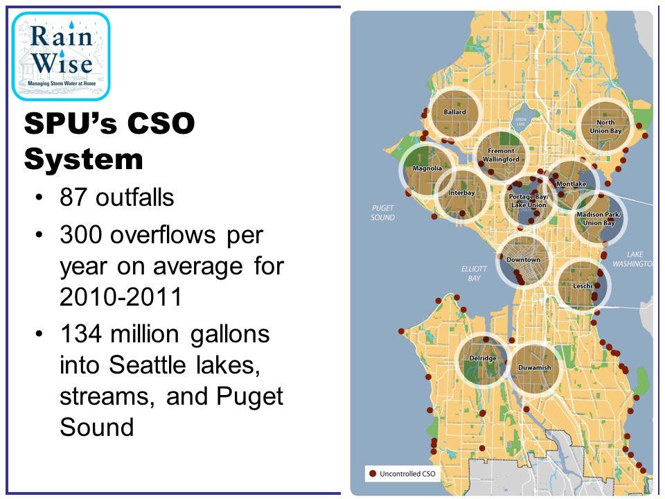 Realtime CSO website Long Term Control Plan Site RainWise Home Page RainWise Tools Seattle Public Utilities3