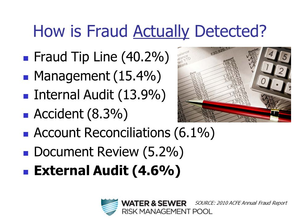 How is Fraud Actually Detected.