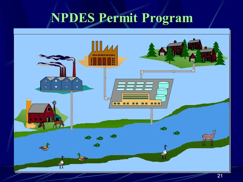 21 NPDES Permit Program