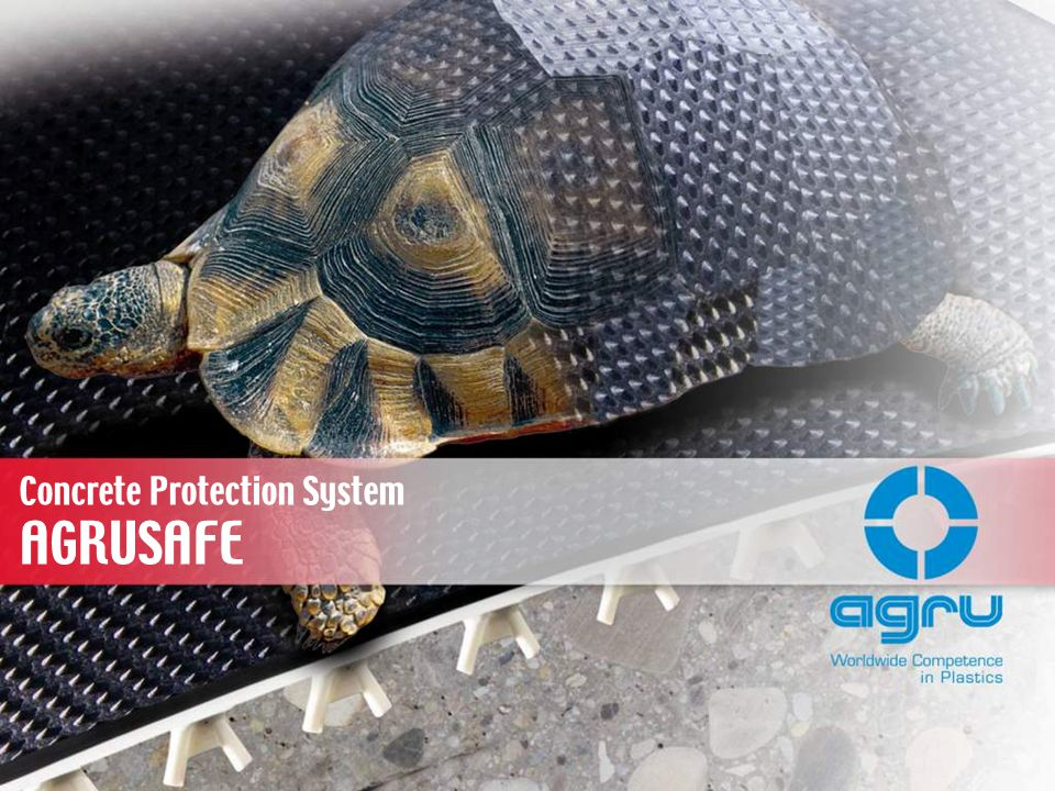 AGRUSAFE Concrete Protection System