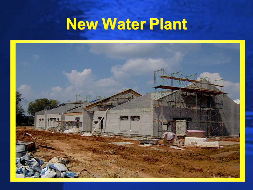 New Water Plant