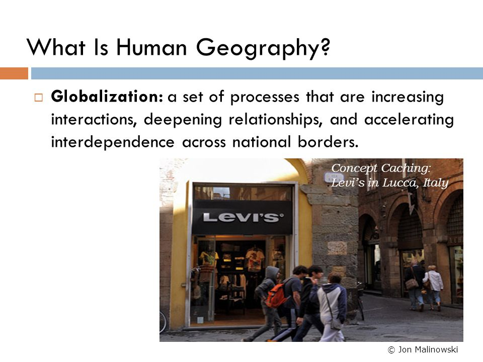 Geographic Investigation Process Four-Level Analysis:  Level 1 - What.