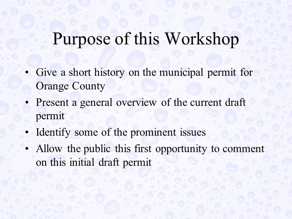 Conclusions This permit is consistent with other MS4 permits, as well as State and US EPA guidance.