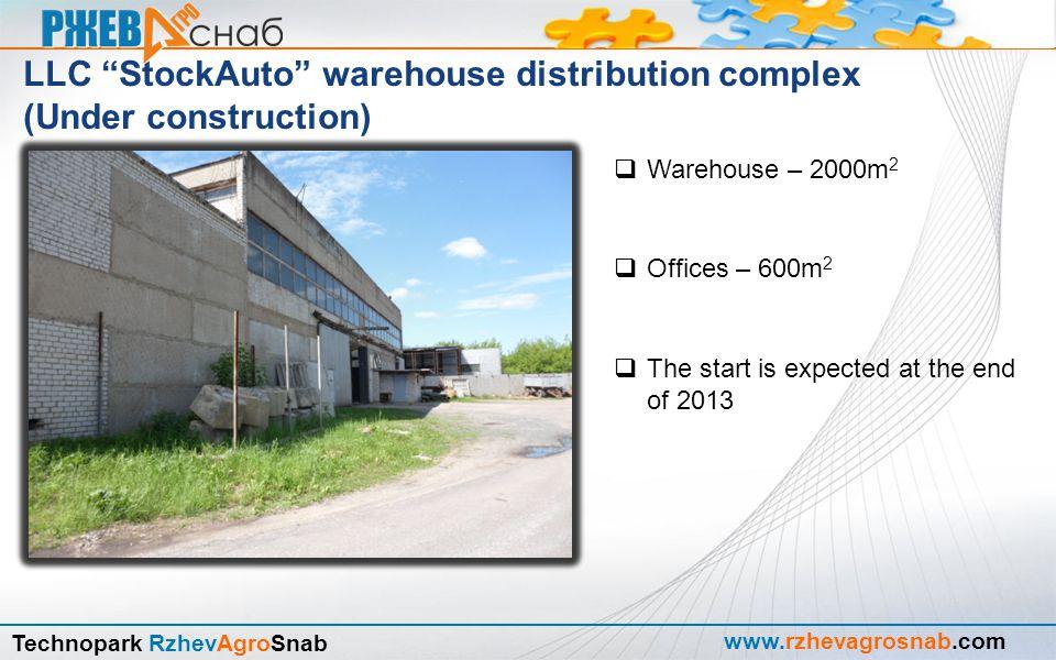 """www.rzhevagrosnab.com Technopark RzhevAgroSnab  LLC """"StockAuto"""" AUTORIZED ECONOMICAL OPERATOR area"""