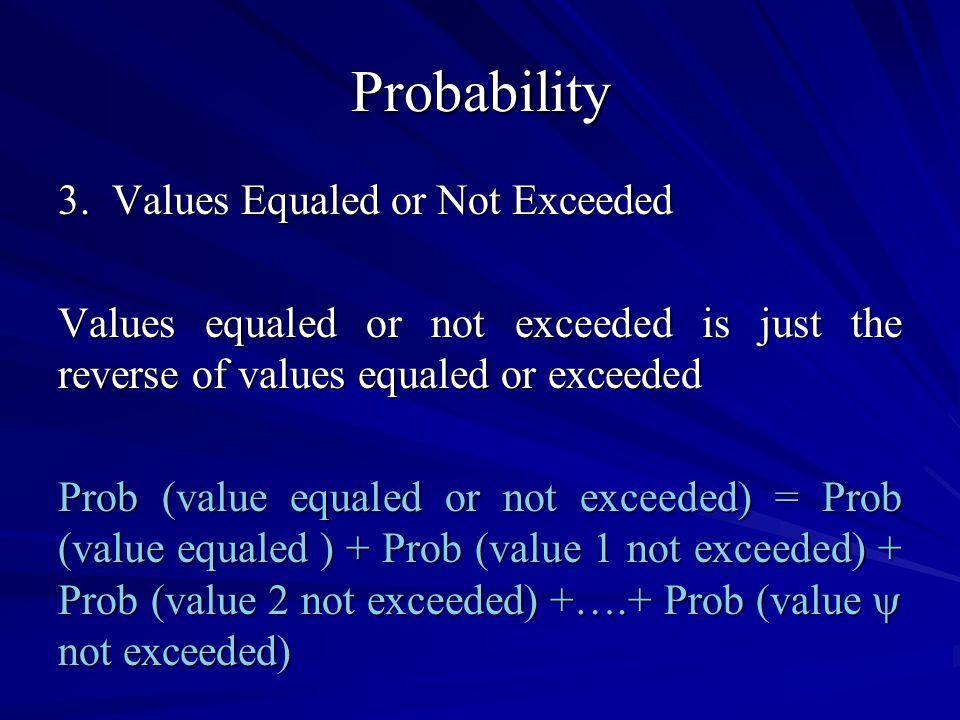 Probability 3.