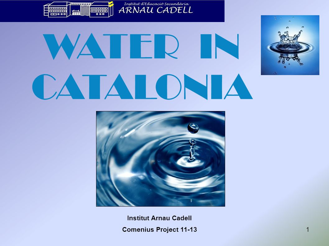 WATER & CATALONIA 2