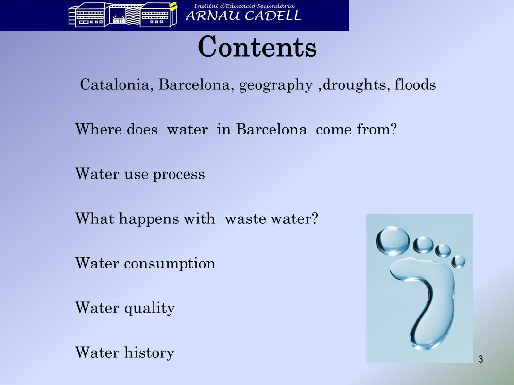 14 What happens with waste water.
