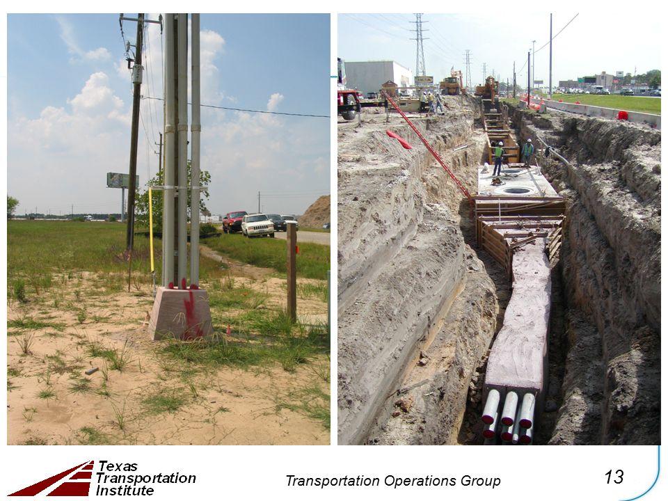 13 Transportation Operations Group