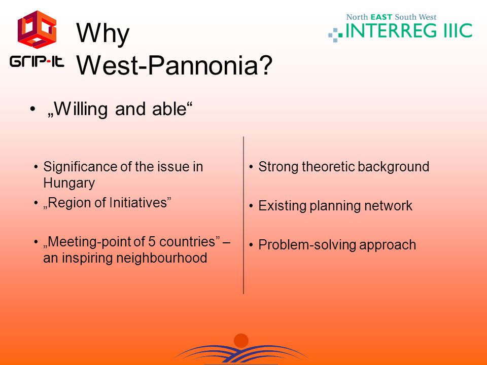 Why West-Pannonia.