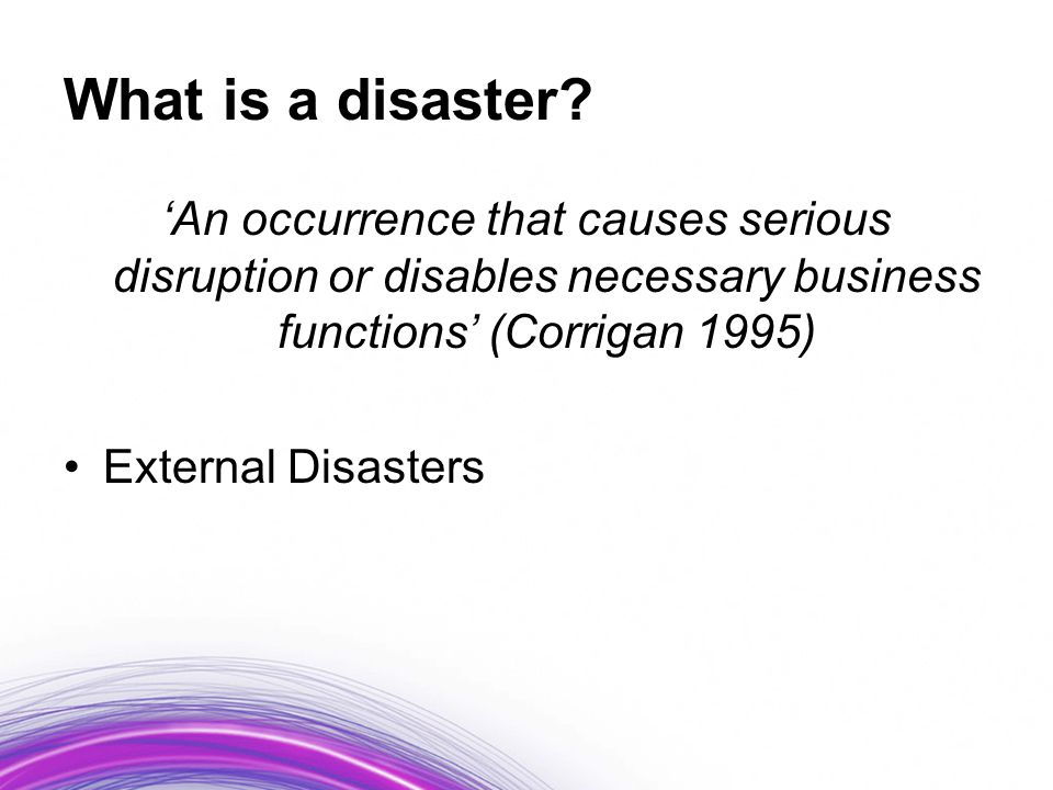 Types of disaster contingency plans within Health Information Services, according to hospital size.