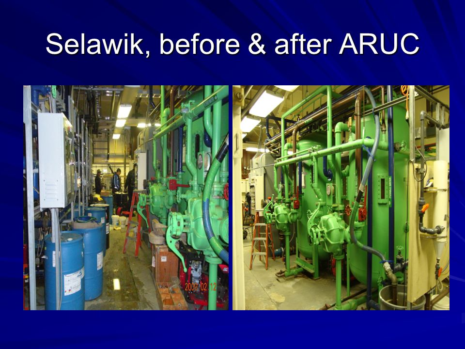 Selawik, before & after ARUC