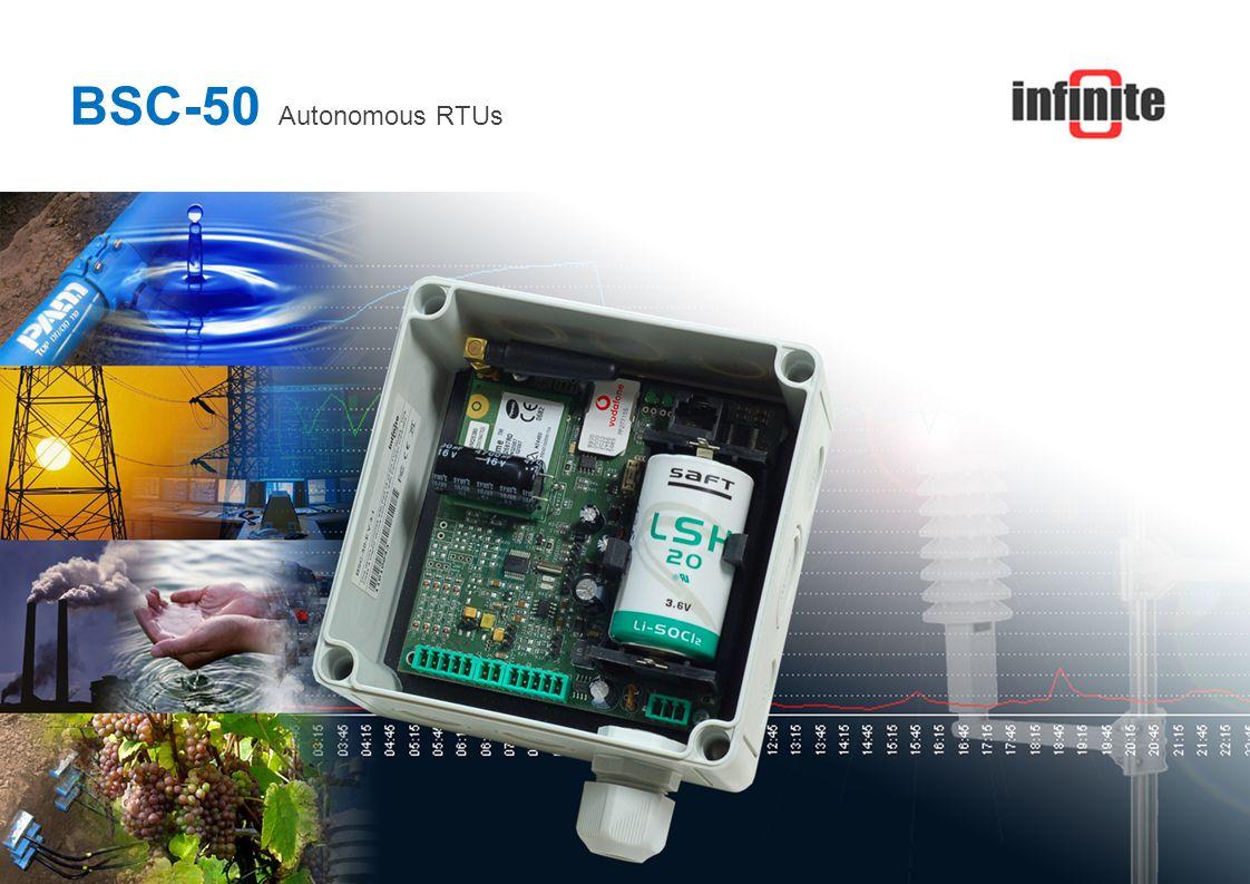 BSC-50 Autonomous RTUs