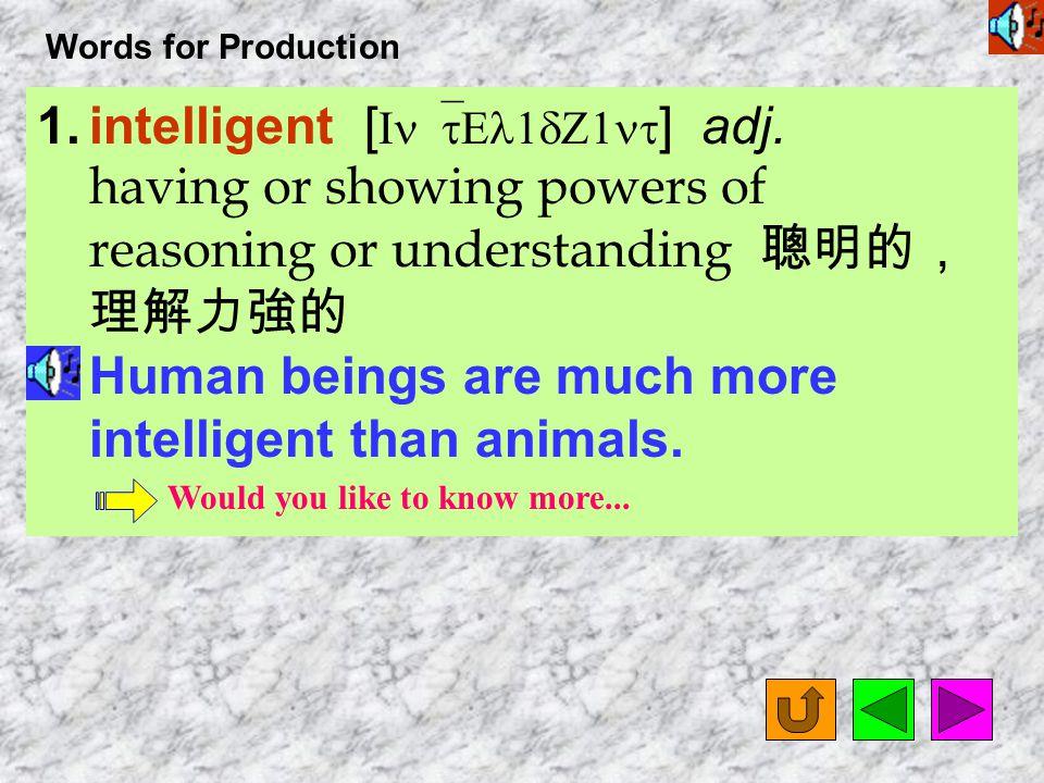 Words for Production 14.profession [ pr1`fES1n ] n.