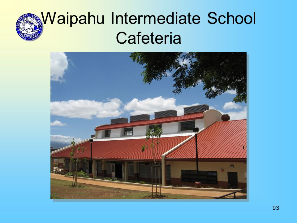 93 Waipahu Intermediate School Cafeteria