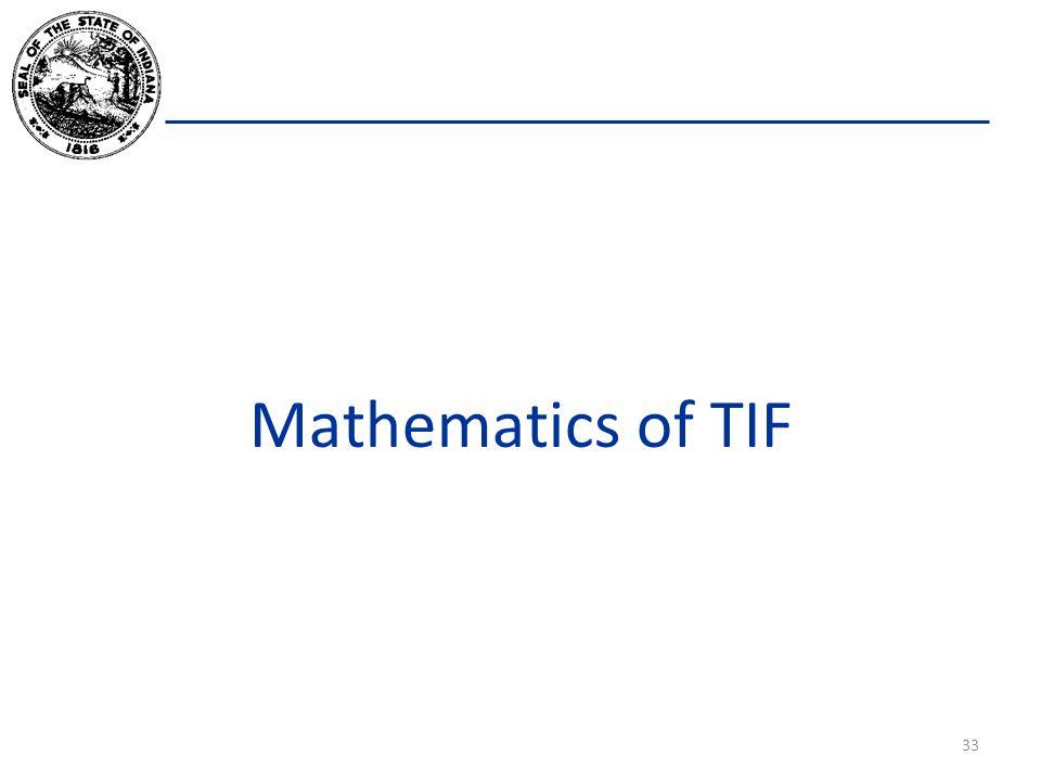 Mathematics of TIF 33